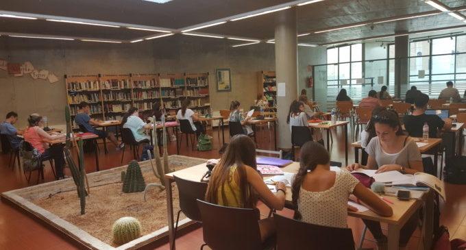 Paterna augmenta la capacitat de la biblioteca Cova Gran