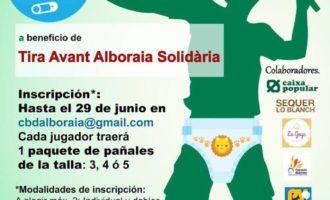 """El Club Bàdminton Alboraia celebrarà el seu I Torneig Solidari """"Ningún niño sin pañal"""" durant les Festes Patronals del municipi"""