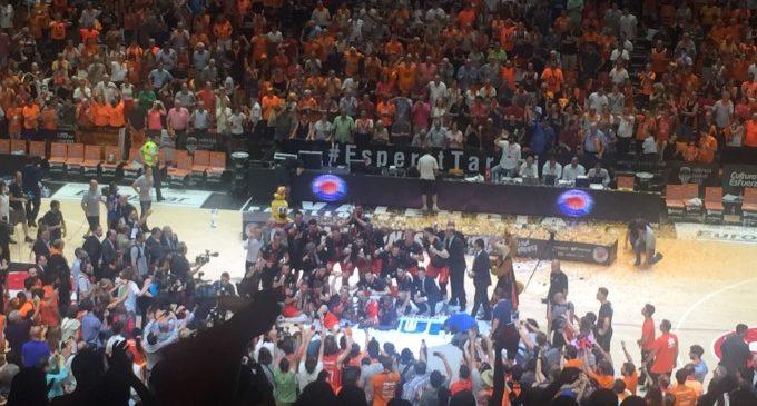 El València Basket arriba a l'Olimp amb la seua primera Lliga