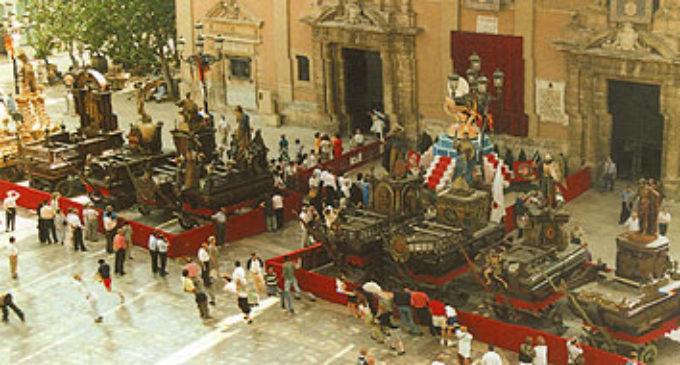 Tradició valenciana en la celebració del Corpus 2017
