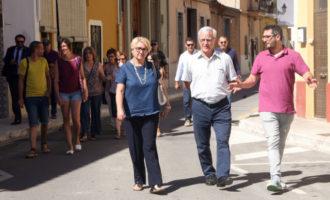 Ribó i Castillo aborden amb els veïns de Massarrojos el desviament de la CV-308