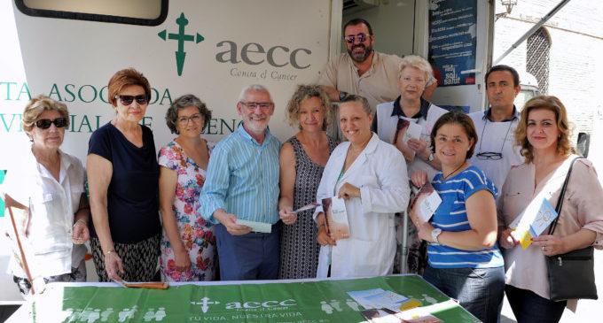 AECC realitza una campanya de prevenció de càncer de pell a Alboraia