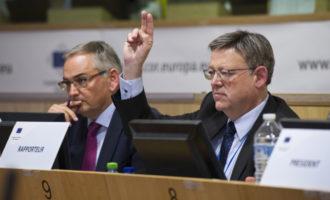 Puig defiende la necesidad de destinar más fondos europeos en la red supranacional de transportes en la UE