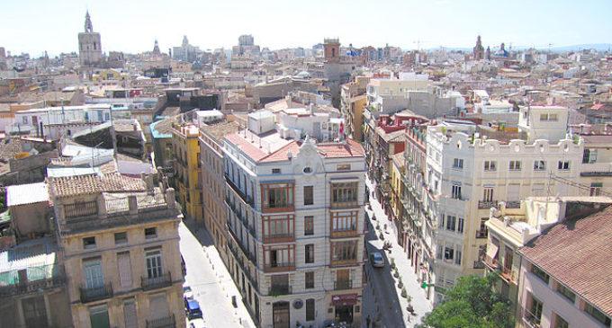 Pintado de terrazas en Ciutat Vella por petición vecinal