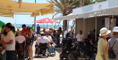La Feria Activa't reivindica una ciudad sin barreras