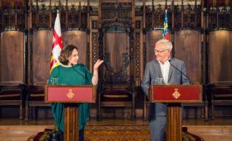 València i Barcelona reclamen conjuntament al Ministeri de Foment la priorització del Corredor Mediterrani