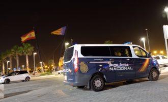 La Policia Nacional deté a diversos joves en els voltants d'un festival a València
