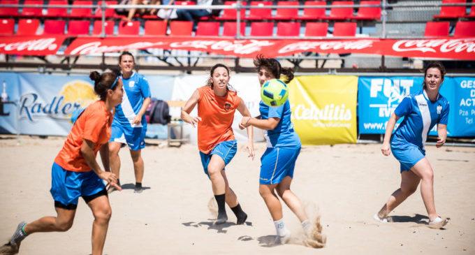 La Platja del Cabanyal s'engalana per a rebre al XXIV Trofeu Ciutat de València de Futbol Platja