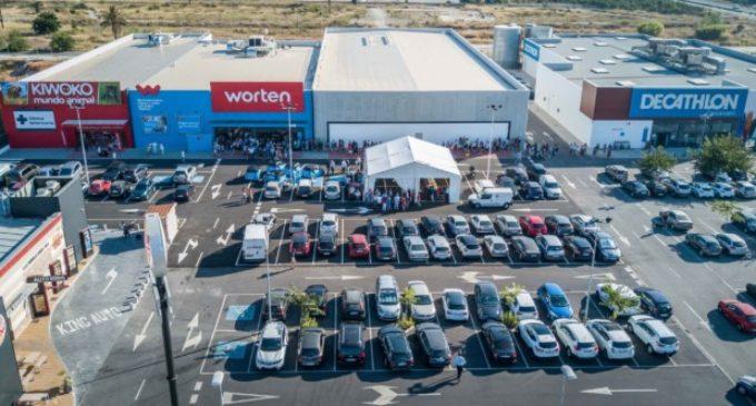 "Corpfin Capital Retail Parks inaugura a Carcaixent el parc comercial ""Taronja"""
