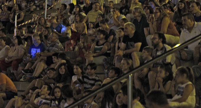 El Cinema d'Estiu i el Festival GastroJazz de Paterna reunixen a més de 2.600 persones