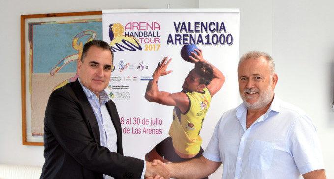 Metrovalencia facilitarà el transport als participants en l'Arena 1000 València Beach Handball