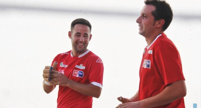 Pere Roc II, Jesús i Tomás II triomfen en el trofeu de pilota Ciutat de Torrent