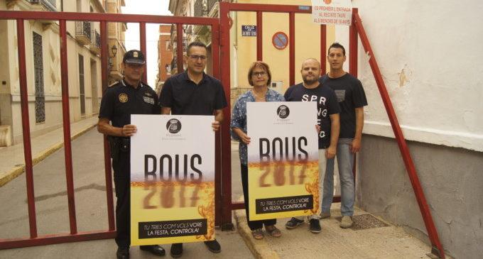 L'Ajuntament de Picassent presenta la Campanya Tú tries com vols vore la festa, controla! durant les festes de Bous
