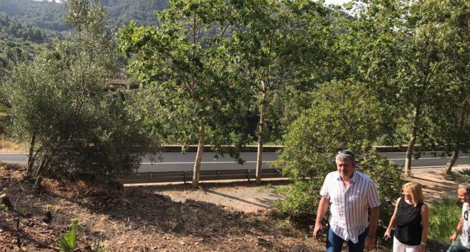 Serra adequa la Font de Sant Josep com a zona recreativa i d'esbarjo amb l'ajuda de la Diputació