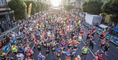 El recorregut de la Mitja Marató de València 2019