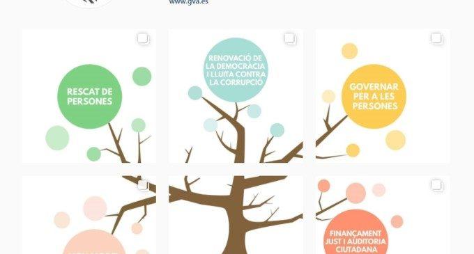 La Generalitat ja és 'instagramer'