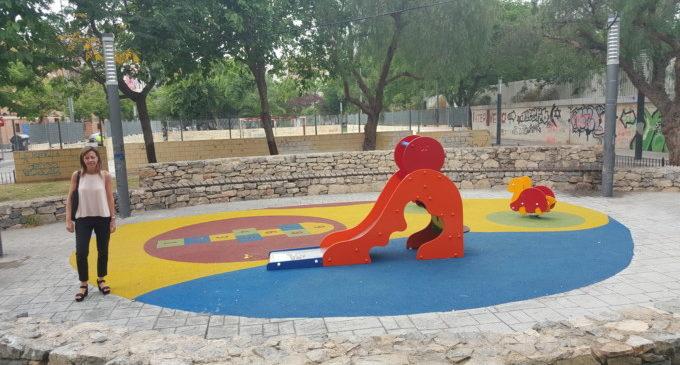 Finalitza la remodelació del parc infantil de Santa Rita