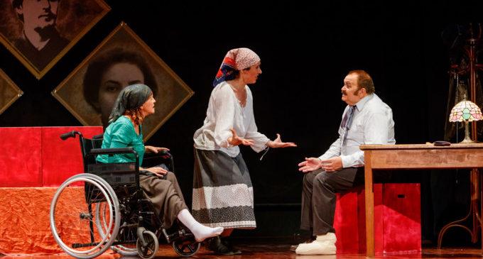 """L'Escola de Teatre de Mislata baixa el teló d'aquesta temporada amb la representació de """"Entorn Chéjov"""""""