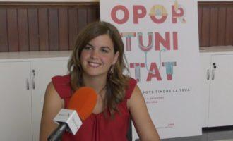 """Sandra Gómez: """"València està renaixent amb la creació de xicotetes i mitjanes empreses"""""""