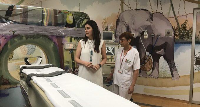 Un viatge a la selva en el TAC pediàtric de l'Hospital La Fe de València