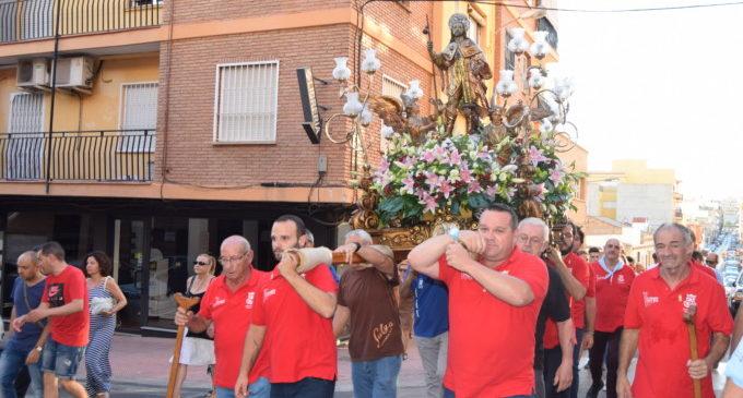 Sant Roc començarà a visitar els barris de Burjassot el 3 d'agost