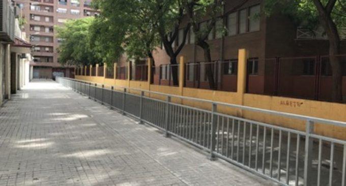 Es millora la seguretat en l'entorn del col·legi públic San Pedro