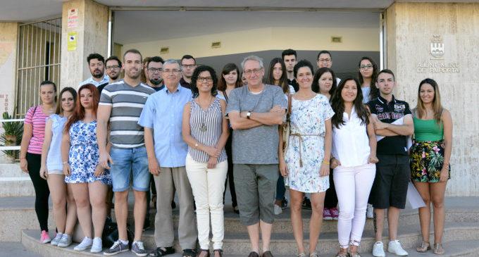 Una vintena de joves s'incorporen a l'Ajuntament de Paiporta a través del programa 'La Dipu Et Beca'