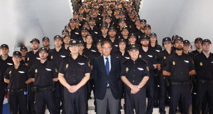 Presentació de 99 policies en pràctiques que s'incorporen a la província de València i Castelló