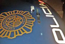 Detingut a València un home per denunciar un fals robatori de tres maletins amb joies
