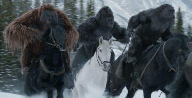 """""""La guerra del planeta de los simios"""" de Matt Reeves: Los proscritos"""