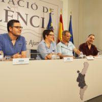 La Diputació manté la seua aposta per la pilota amb la presentació del XII Trofeu de Frontó