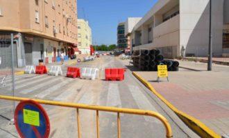 Manises comença les obres per a millorar el clavegueram dels carrers amb problemes d'inundacions
