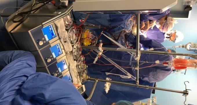 IMED València realitza la seua primera cirurgia cardíaca