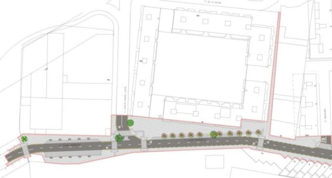 Comencen les obres de reurbanització del carrer Pare Barranco