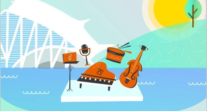 'Un llac de concerts' torna a la Ciutat de les Arts i les Ciències els divendres de setembre i octubre