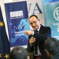 La Diputació acosta el finançament europeu a una empresa que tracta de reduir residus químics en cultius