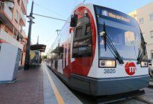 FGV renovarà la via en el tram entre La Cadena i La Marina de les línies 4 i 6 del tramvia aquest cap de setmana
