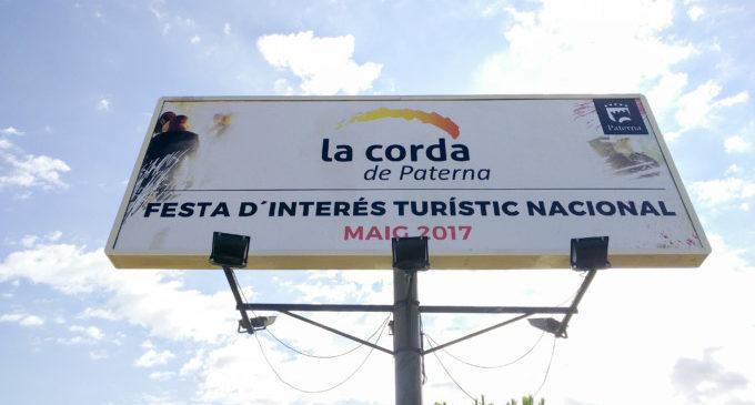 Paterna festeja la seua primera Cordà com a Festa d'Interès Turístic Nacional