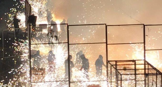 La pólvora protagonitza els últims dies de festa