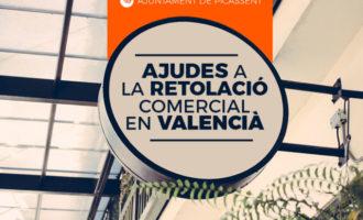 Picassent convoca ajudes per a la retolació en valencià de comerços, empreses, indústries i professionals del municipi