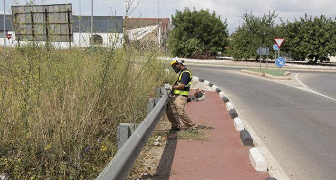 Picassent treballa en el manteniment de camins i carreteres