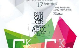 """La carrera i marxa solidària """"Llíria contra el càncer"""" torna a la localitat edetana en setembre"""