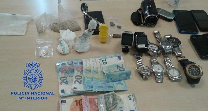 Detinguda una parella per tràfic de drogues en Abastos