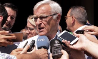 València expressa el seu suport a Barcelona i Cambrils