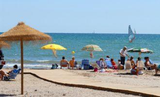 Les aigües de les Platges del Puig de Santa María gaudeixen d'excel·lent qualitat segons les dades oficials