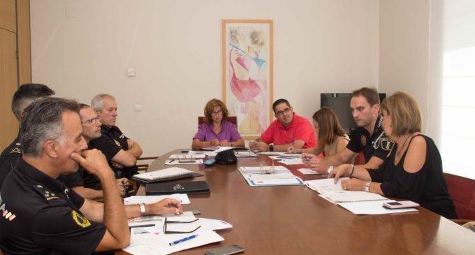 Desplegament de seguretat per a les festes d'Alaquàs