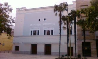Ontinyent millora la il·luminació del Teatre Echegaray per a poder acollir espectacles de major envergadura