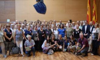 Els veïns de la Granja de la Costera i Montitxelvo visiten la Diputació de València