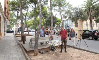 Héctor Dols, primer premi al XIV concurs de pintura ràpida 'Godella i el seu entorn'