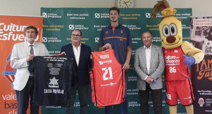 """Tibor Pleiss: """"Vaig a donar tot el que tinc per Valencia Basket"""""""